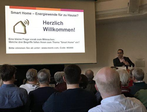 Volles Haus im Smart Home – Veranstaltung zum vernetzten, intelligenten Zuhause stößt auf reges Interesse