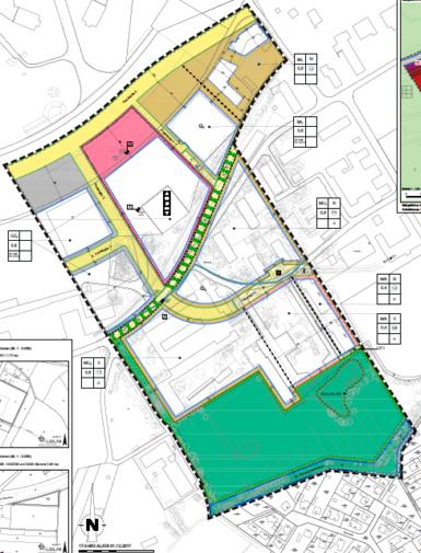 ENaQ-Bebauungsplan © Stadt Oldenburg