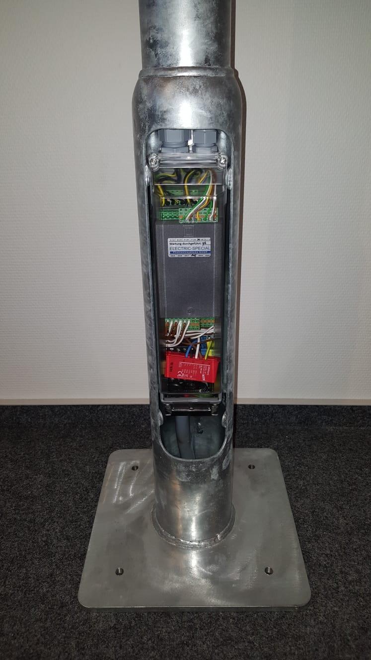 Smarter Pfosten - Bildquelle: ELECTRIC-SPECIAL Photronicsysteme GmbH