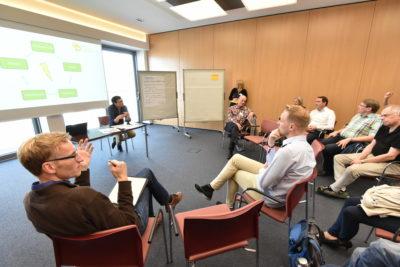 """Energie-Workshop 2 – """"Beteiligung an Energieerzeugungsanlagen im Quartier"""", Bild: Stadt Oldenburg/Frick"""
