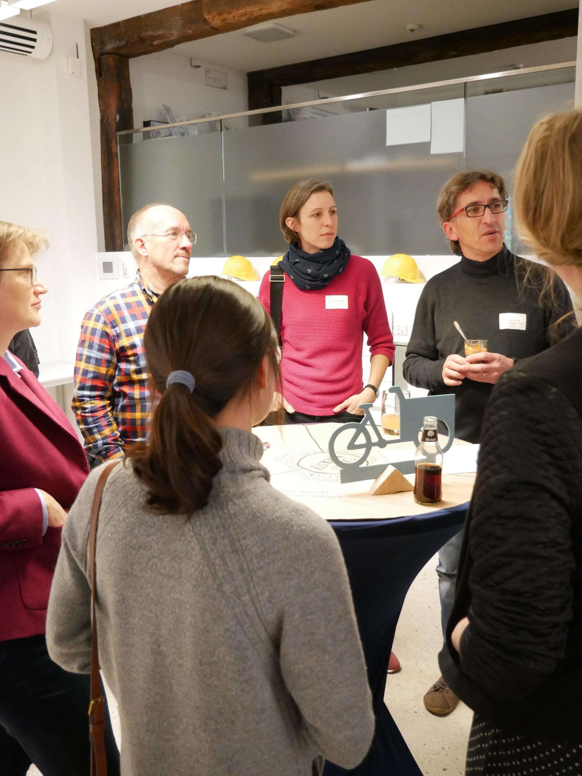 """1. OSCAR After-Work Meetup """"Wohnen in der Stadt der Zukunft"""", Bild: OLEC e.V."""