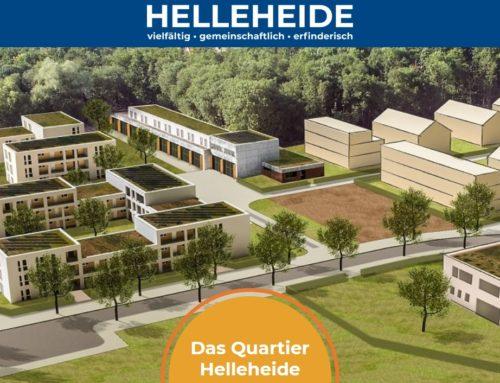 Quartier Helleheide: Jetzt neue Website erkunden und Newsletter abonnieren!
